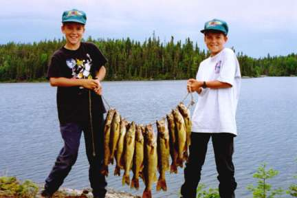 Canada Fishing family fishing vacation (#3)