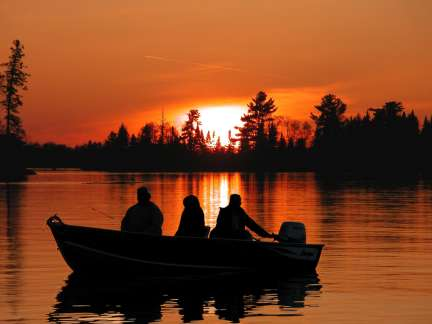Canada Outfitters Sunset on the water (#4)