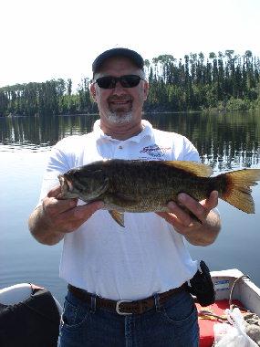 Smallmouth Bass on Norse Lake (#13)